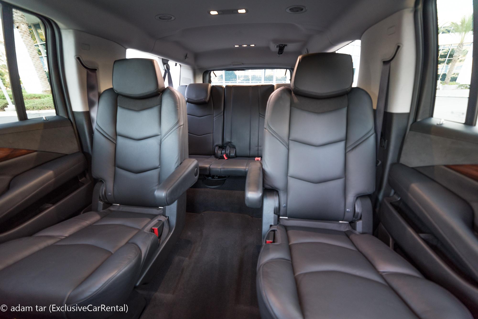 Cadillac Escalade Esv Suv Rental In Los Angeles And