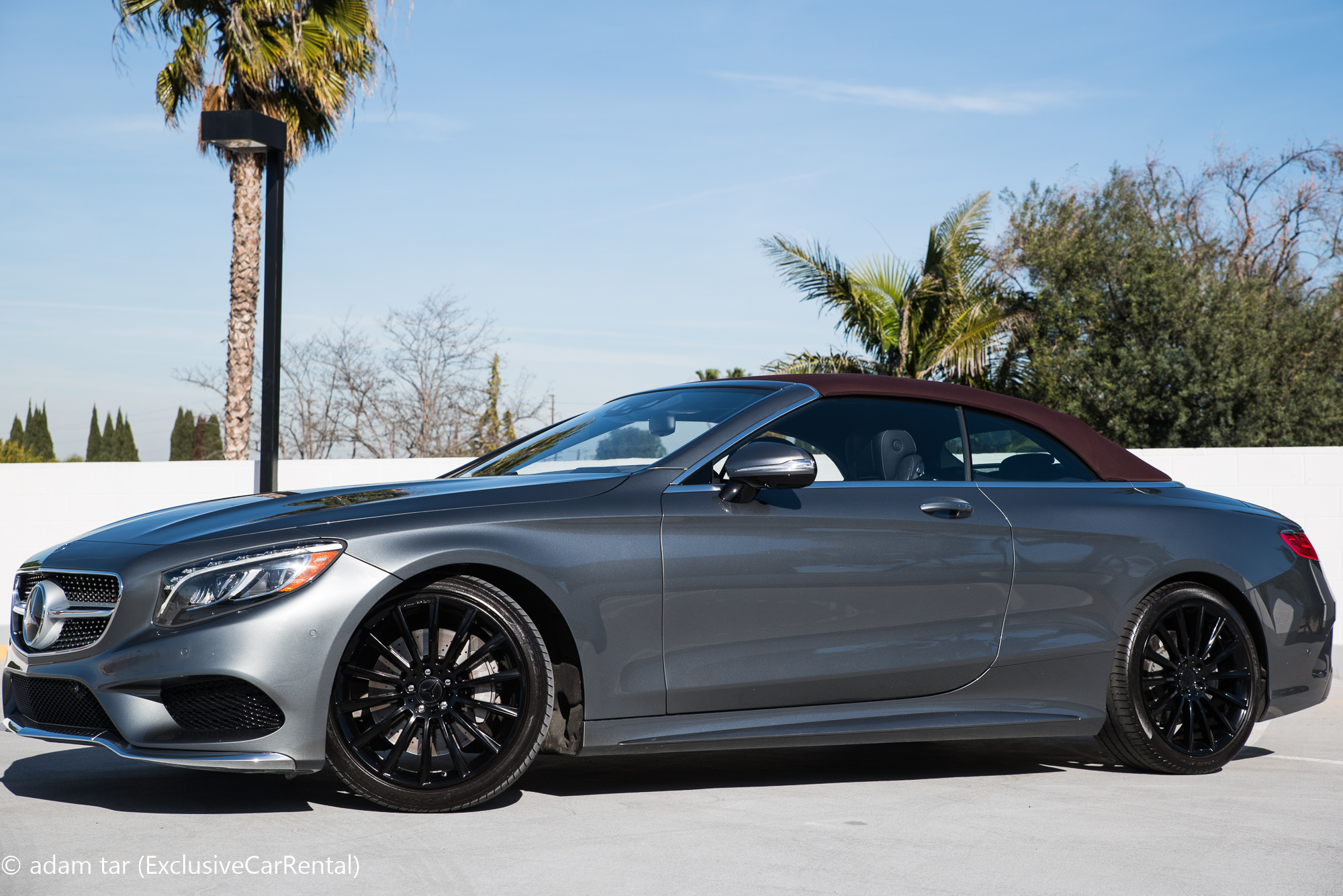 Rent The All New 2017 Mercedes S550 Convertible